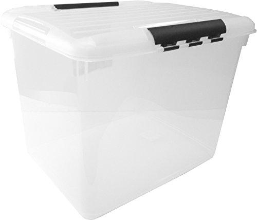 CURVER Transportbox, Polypropylen, schwarz, 52 L