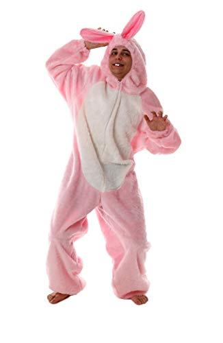 Marco Porta Faschingskostüme Ltd. & Co. KG Rosa Hasenkostüm Bunny Hasen Verkleidung Kostüm