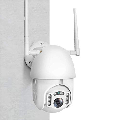 Cámara de seguridad IP WiFi - 1080P cámaras de vigilancia en el hogar, Pan/Tilt/Zoom ONVIF 2MPCamera con visión nocturna, audio de 2 vías, detección de movimiento/sonido