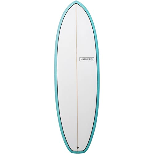 Modern Surfboards Highline PU Surfboard Sea Tint, 6ft 4in