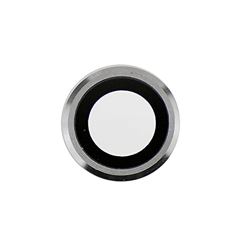 Best Shopper - Replacement Camera Lens with Bezel Compatible with iPhone 6S 4.7 inch - Silver