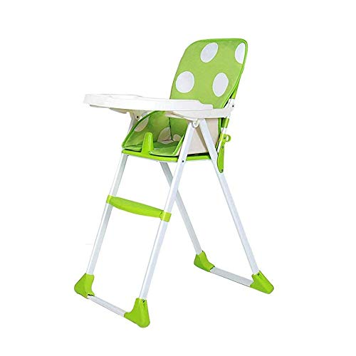 Check Out This Baby high Chair,Portable Folding High Chair, Adjustable Height and Adjustable Dining ...