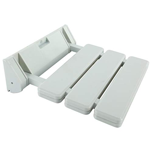 FreeTec Asiento Plegable Para Ducha (Soporta Hasta 130 kg), Color Blanco