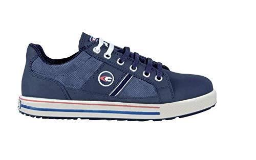 Cofra Sicherheitsschuhe Coach S3 Old Glories in Sneaker-Optik, Größe 45, blau, 35000-002
