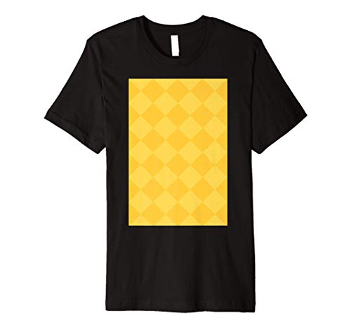 Celtic Glasgow Celt 1988 Centenary Yellow Away Premium T-Shirt