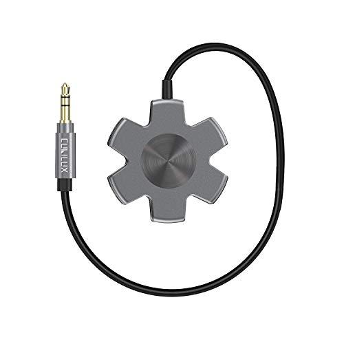 Headphone Splitter Multi Ways Audio Adapter 3.5mm Male to 5 Jacks Female Earphone and Headset Adaptor Compatible for Samsung S10 S9 S8, iPhone iPad MacBook, LG, Smartphones, Tablets, Laptops