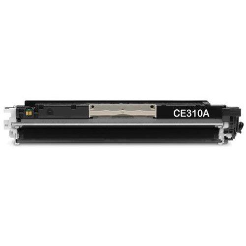 merotoner - Tóner sustituye a HP Color LaserJet PRO CP1025, CP 1025NW, M 175A - HP CE310 A, CE 310A / HP 126 A (negro/negro)