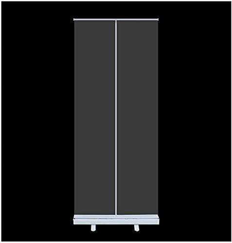 Piso de pie SNEZEET Guard Pop Up Roller Banner Pantalla de distanciamiento social, 60x160cm / 80x200cm, Pantalla de protección transparente de la protección de estornudos de pie para oficina, tiendas,