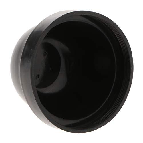 Almencla Universal Gummideckel Staubschutzkappe Staubschutz Gummigehäuse Dichtungs Kappe für Auto Scheinwerfer Lampe Gehäuse, 75X55mm