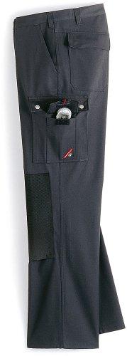 BP 1493-720-53-64 Arbeitshosen, Jeans-Stil mit mehreren Taschen, 305,00 g/m² Verstärkte Baumwolle, dunkelgrau, 64