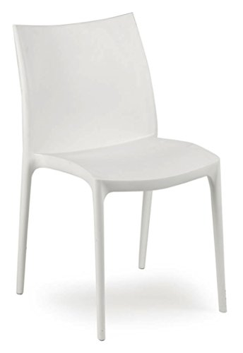 大徳商事 IPAE-PROGARDEN S.P.A イタリア製ガーデンチェア ZIP ホワイト