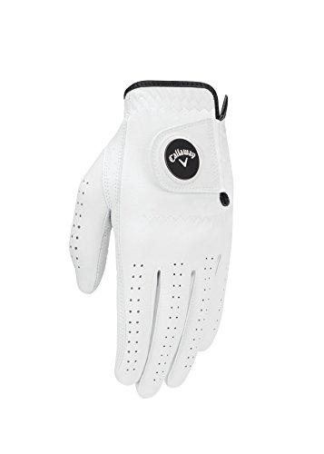 Callaway Women s Opti Flex Glove, White, Medium, Worn on Left Hand