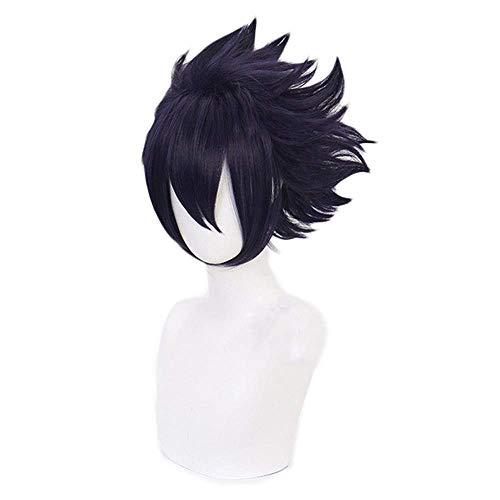 Death Devil Anime Cosplay Wig for My Hero Academia Cosplay Wigs with Free Wig Cap Amajiki Tamaki