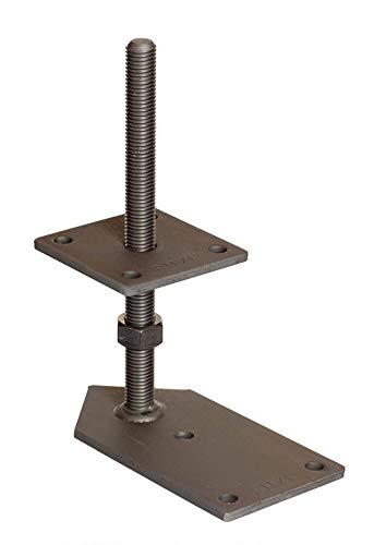 Pitzl Pfostenträger - Gewindestangen, Gewinde M20 (mm) 250, 1 Seite 2 x 45° geschnitten