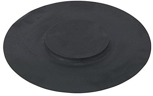 Stagg 2609 Übungspad aus Gummi 35,6 cm Mit Verstärktem Mitteldot