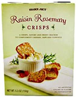 Trader Joe's Raisin Rosemary Crisps