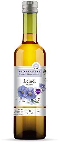 Bio Planete Bio Leinöl nativ 3D-Filtration (1 x 500 ml)