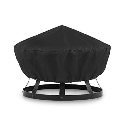 blumfeldt Pentos Weather Protection Raincover Cover - Rain Protection Pentos 2-in-1 Fire Bowl and Grill, Material: Nylon 600D, Tearproof, Waterproof, Washable, Black from Blumfeldt