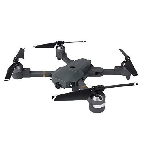 TwoCC Drohne mit Kamera, Xt-1-Biegung, Einstellpunkt für Den Optischen Fluss, Gefolgt von Definition Lichtstroms Remote-Uav-Antenne Wifi 720P-Höhenhaltemodus, Der Den Kopflosen Rc Quadrocopter Faltet