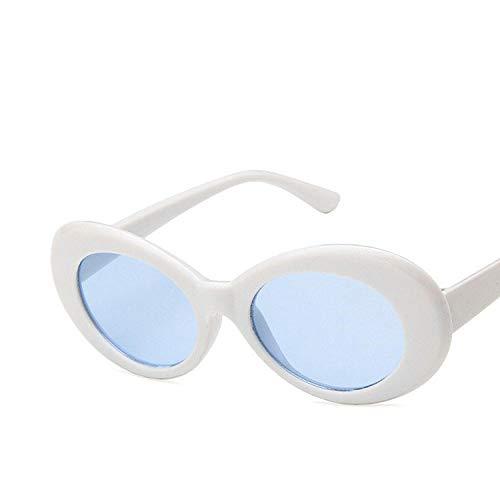 Gafas de sol de las señoras ovaladas de las mujeres de los hombres de las gafas de sol retro femenino de la moda de los hombres gafas de sol de las mujeres
