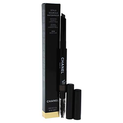 Chanel Stylo Sourcils Waterproof Stilo Sopracciglia Lunga Tenuta Sopracciglia n. 808 Brun Clair