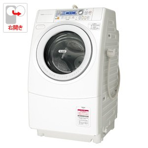 アクア 9.0kg ドラム式洗濯乾燥機【右開き】ホワイトAQUA エアウォッシュα AQW-DJ7000-R-W