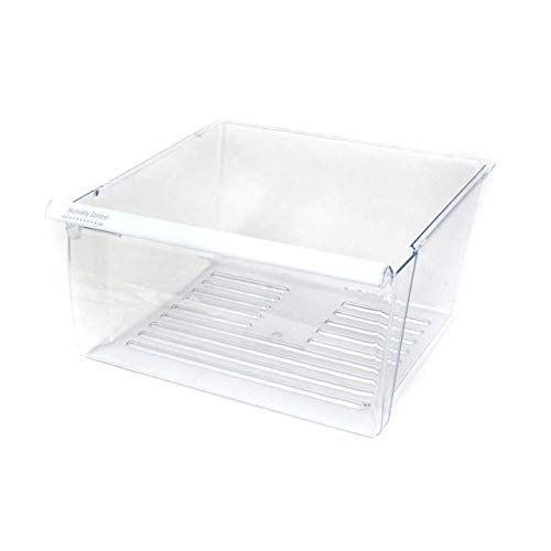 COLIBROX 2188656 Refrigerator Clear Crisper Pan Bin