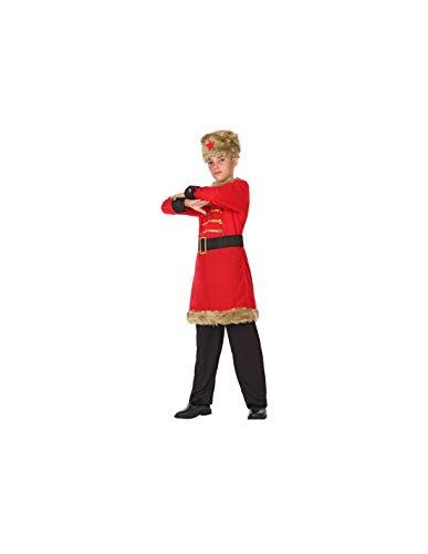 DISBACANAL Disfraz de Ruso para niño - -, 10-12 años