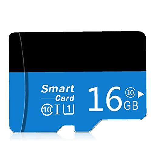 Tuimiyisou Micro SD Card con Adpter Alta Velocidad TF Tarjeta de Memoria para teléfonos de diseño Cámaras Jugador MP3 16GB humanizado