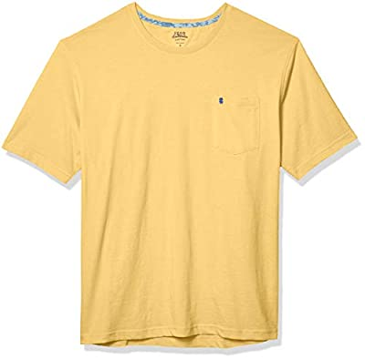 IZOD Men's Slim Fit Advantage Performance Short Sleeve Solid Polo, Sundress, X-Large (Discontinued by Manufacturer) by IZOD