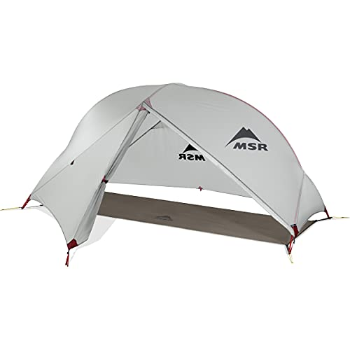 MSR Hubba NX 1-Person Lightweight Backpacking Tent, Without Xtreme Waterproof Coating