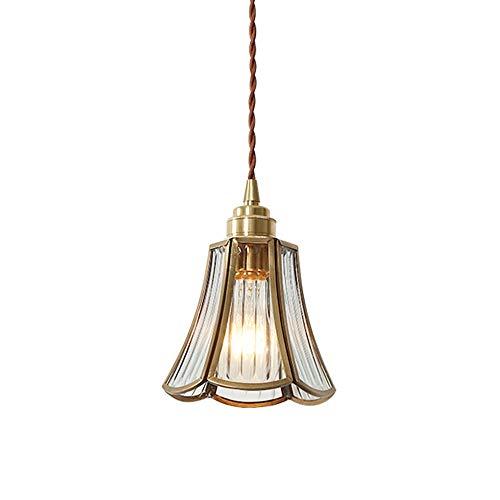 Lámpara colgante vintage industrial Lámpara de cristal de cristal Lámpara de techo Araña E27 Retro LOFT COPE COLGANTE LIGHTING LIGHTING LIGHTING LIGHTURE PARA AISLE BAR CONTANTE DE RESTAURANTE DORMODO