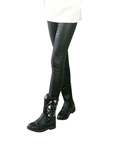 Liangzhu Leggins PU Cuero Skinny Elásticos Pantalones Elegante Pantalones Niña Largos Leggings Pantalones De Cuero Estilo