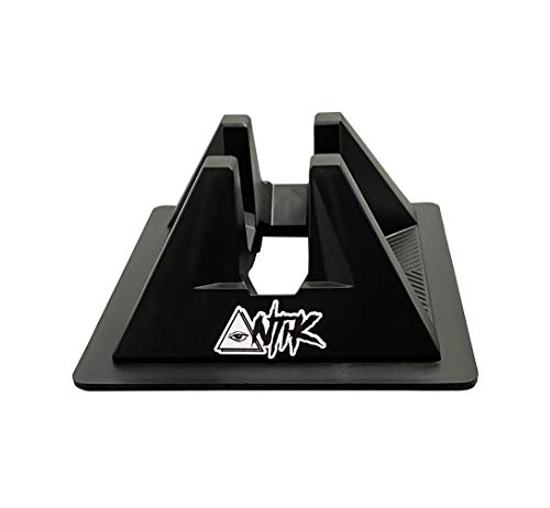 Scooter Stand – Soporte para patinete Freestyle universal – todos los tamaños de ruedas – 95 mm/100 mm/110 mm/115 mm/120 mm/125 mm