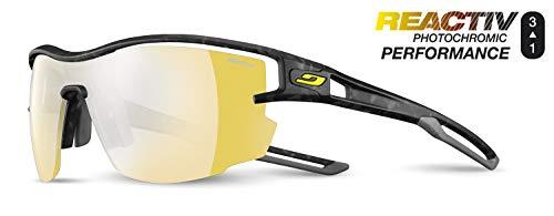 Julbo Unisex Aero Sonnenbrille, Schildpatt/Grau, Einheitsgröße