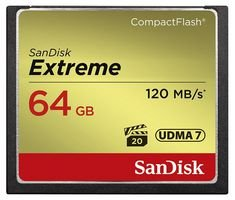SanDisk SDCFXSB-064G-G46 - Tarjeta Memoria 64 GB Velocidad