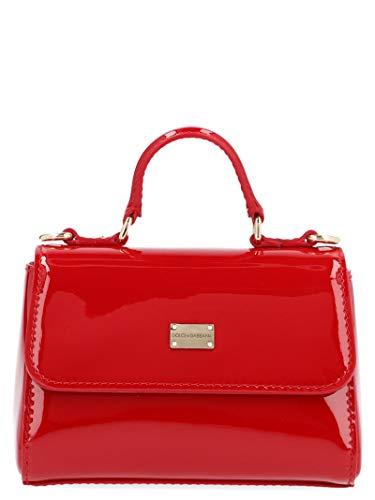 Luxury Fashion | Dolce E Gabbana Donna EB0103A147187124 Rosso Vernice Borsa A Mano | Stagione Permanente
