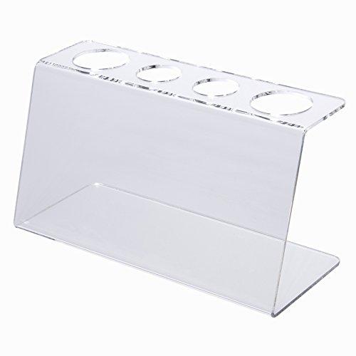 Eistütenhalter/Eistütenständer/Waffelhalter aus Acryl mit 4 Fächern