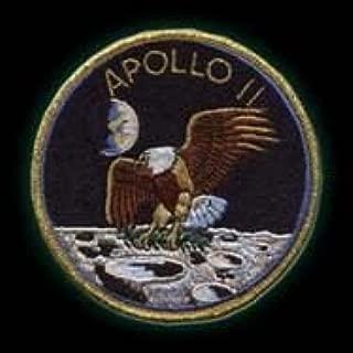 ,Apollo 11-20th Anniversary 13cm, nasa PATCH,TOPPA RICAMATA TERMOADESIVA