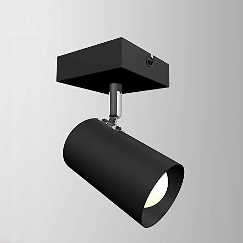 L-YINGZON E14 360 grados de rotación de pared de luz, ajustables Hierro Luz de pared Modren accesorios simples for Sala-5W 3000~6500k Lámpara de interior decorativo