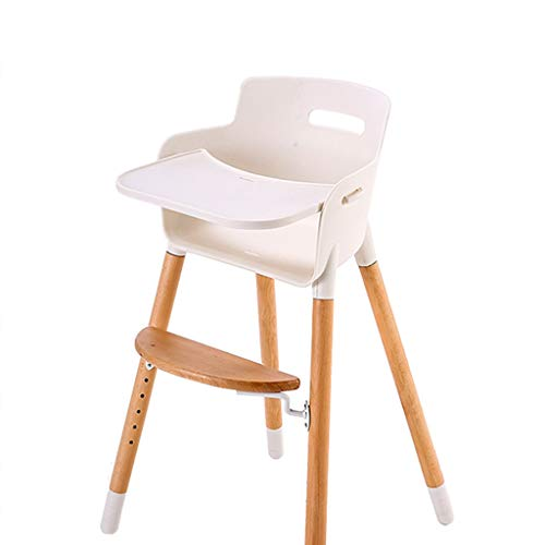 For Sale! Wooden Baby High Chair, Multi-Functional Height Adjustable Baby Dining Chair, Lightweight ...