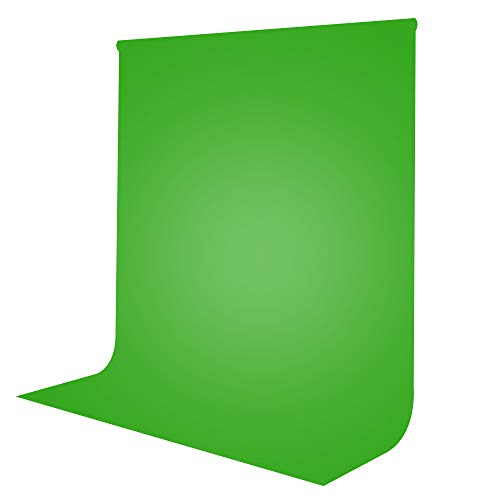 Limostudio 6 x 9 ft. Green Photo Video Photography Studio Fabric 100% Pure Muslin Backdrop Background Screen (Backdrop ONLY)