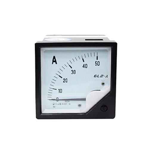 qianqian56 Amperemeter, analog, 30 / 50 / 75 A, AC / DC, hohe Präzision