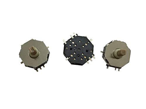 2 piezas HXW0762-310031 interruptor de cinco vías interruptor multidireccional de 8 pies 10x10x8 interruptor táctil con posicionamiento