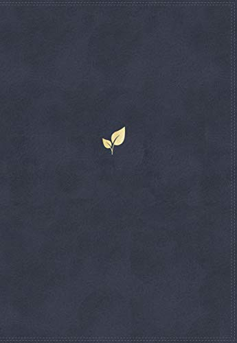 NVI Santa Biblia, Lucado, Palabra de Aliento, Leathersoft, Azul, Interior a dos colores (Spanish Edition)