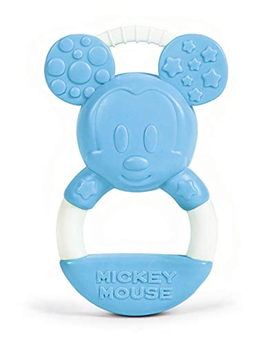 Clementoni - 17343 - Disney Baby Mickey Anello Mordicchioso - Gioco Dentizione E Massaggia Gengive Per Neonati, Bambino 0 - 18 Mesi