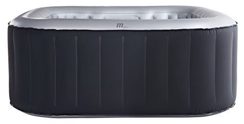 Trade-Line-Partner Premium Alpine - Piscina de hidromasaje exterior, spa, 158 x 158 cm, hinchable