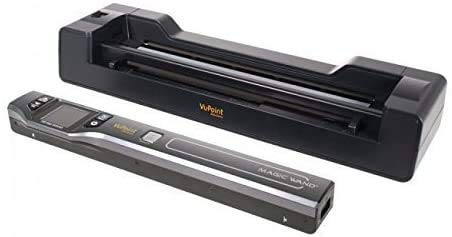 Vupoint ST470 Magic Wand Portable Scanner w/Auto-Feed Docking Station (Black)