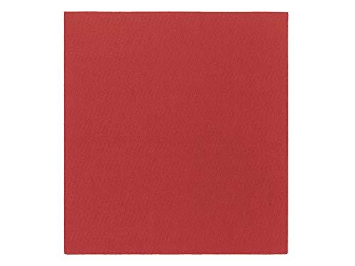 Selbstklebende Teppichfliesen SCENE TILE - Rot, 40x40 cm, Nadelfilz Bodenfliesen, Teppichboden mit Flacher Oberfläche