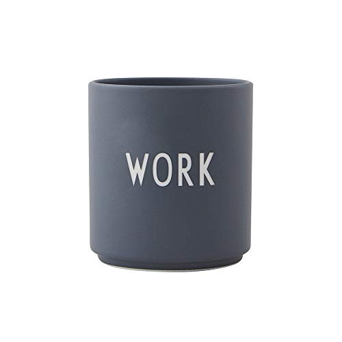 Design Letters Lieblingsbecher WORK (Grau)